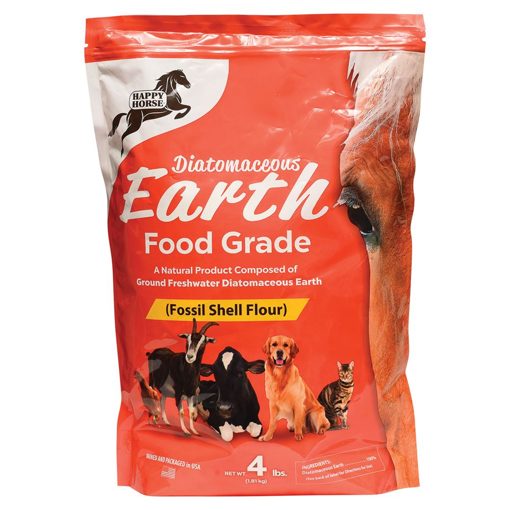 Happy Horse™ Food Grade Diatomaceous Earth 4lbs