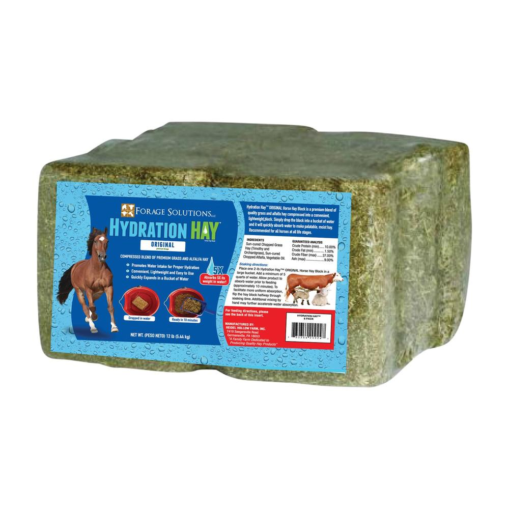 Forage Solutions Hydration Hay - 6 Pack Bale