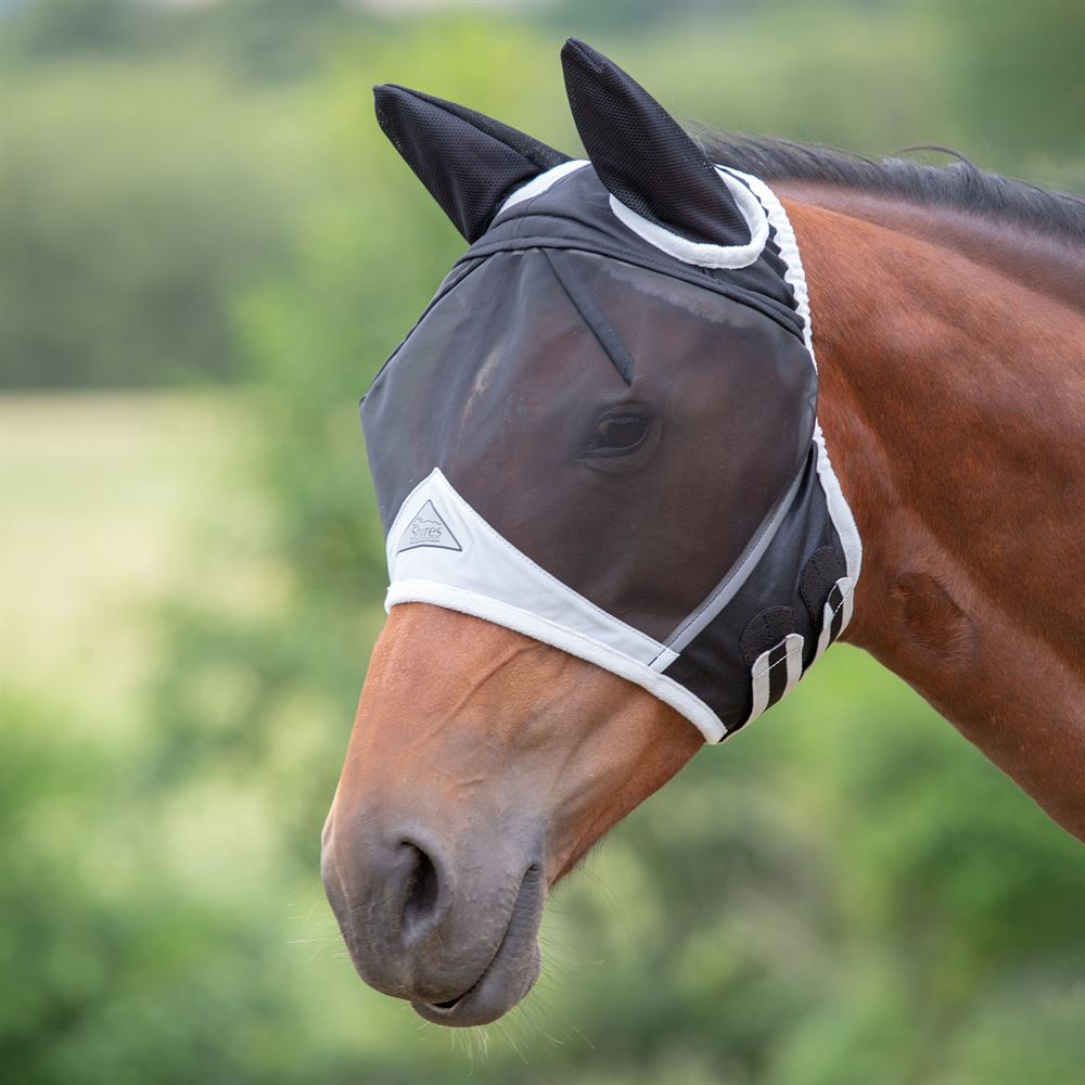 Shires Fine Mesh Fly Mask w/ Ears