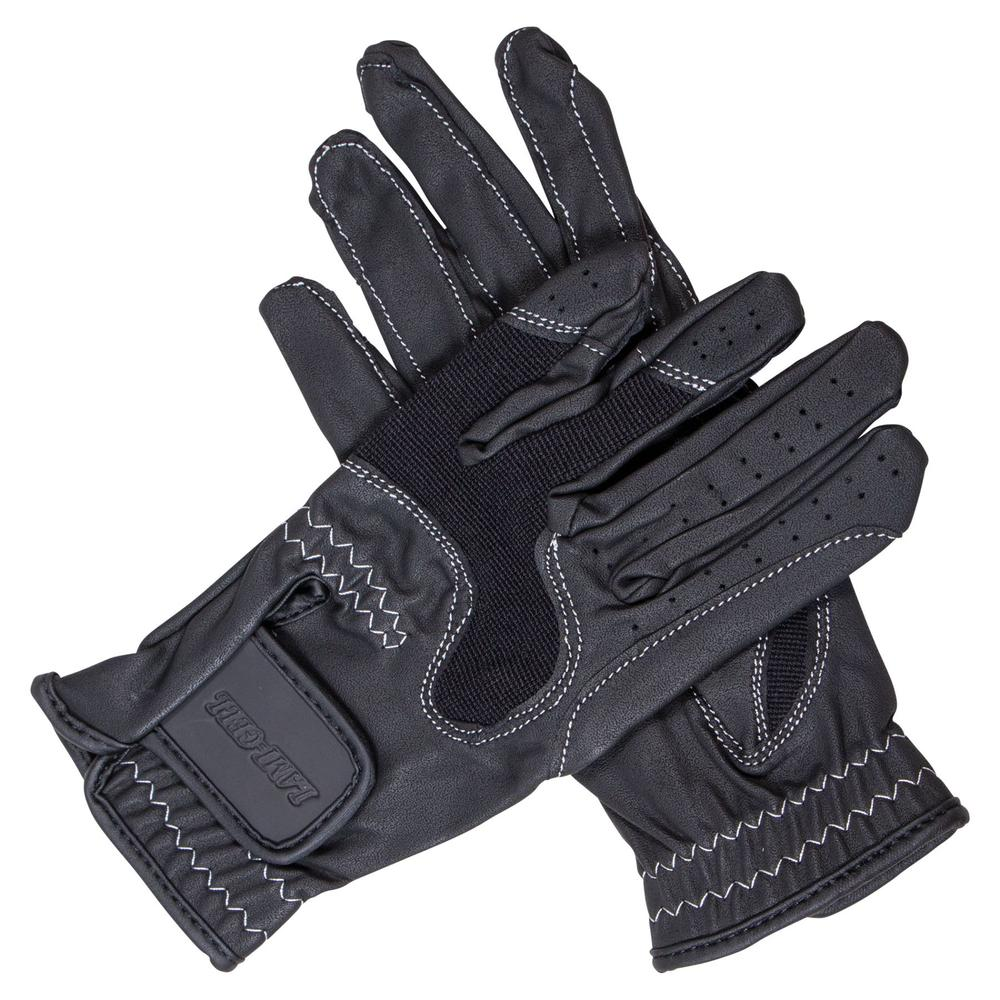 Lami-Cell Suede Palm English Riding Gloves