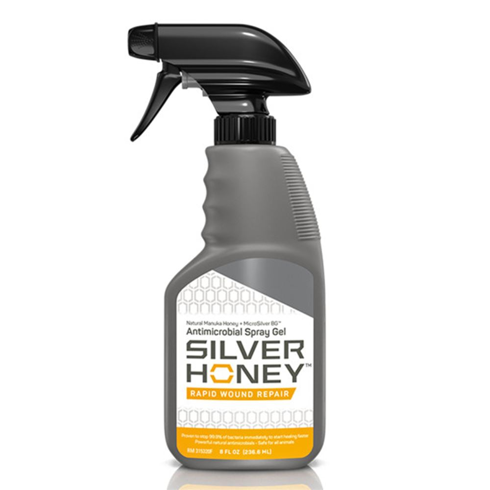 Absorbine Silver Honey Wound Repair Spray Gel 8oz