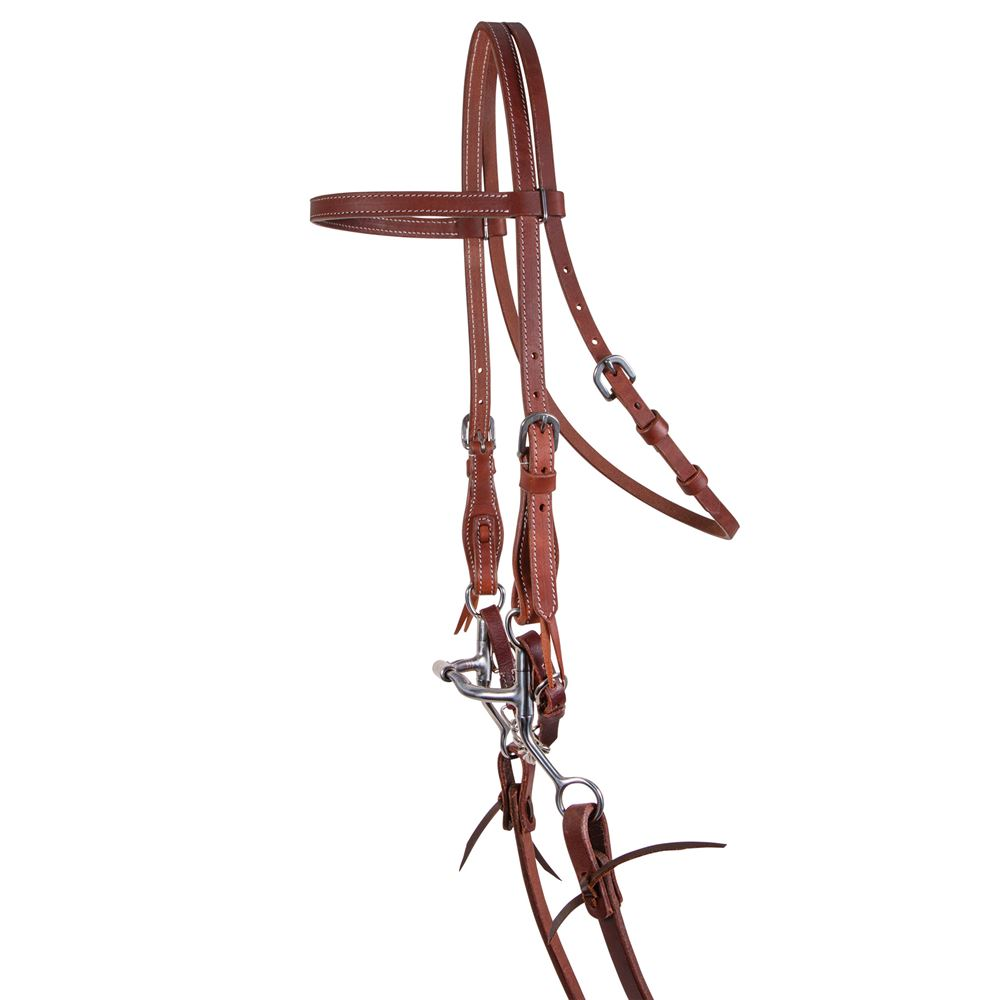 Double S Browband Headstall with Short Cheek