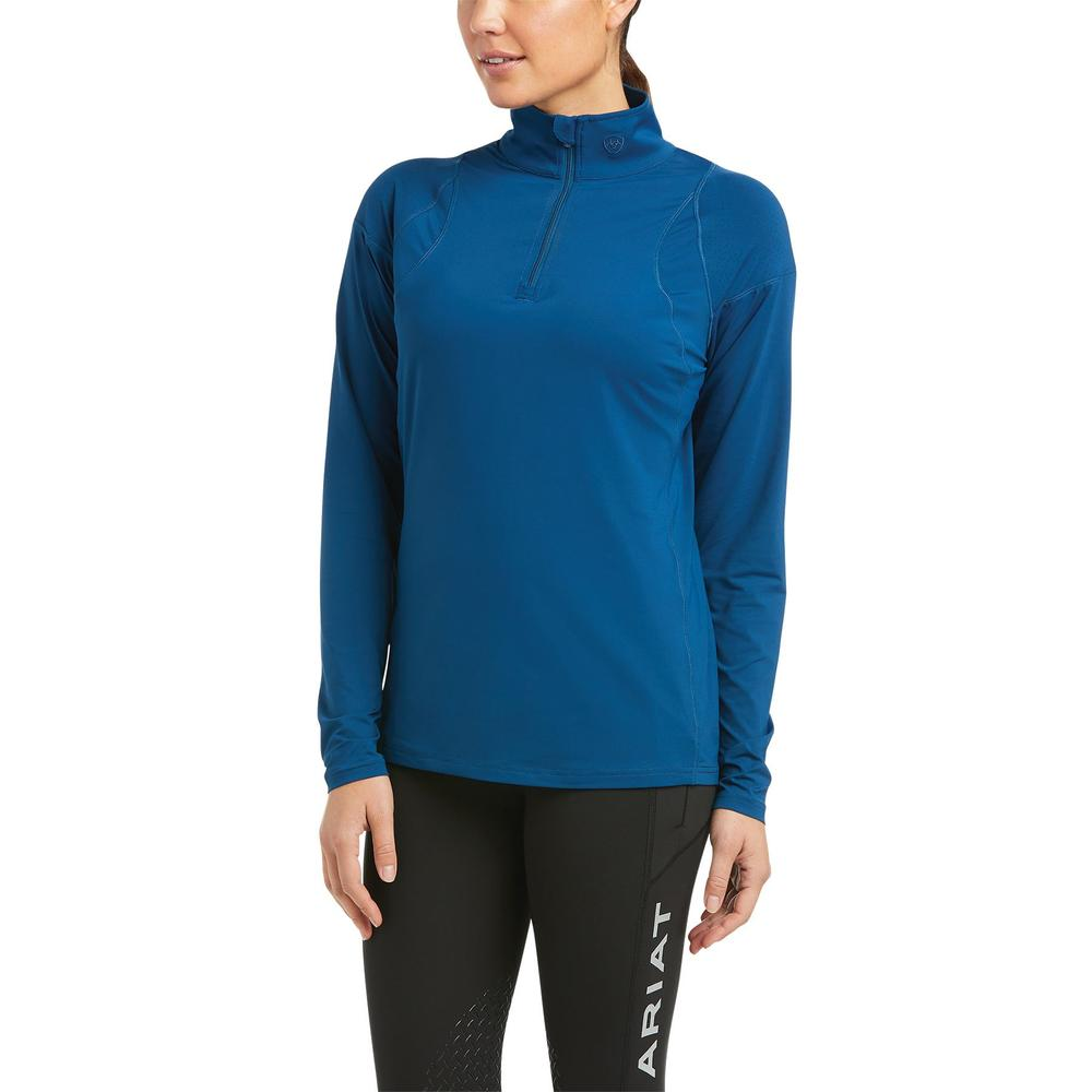 Ariat® Ladies Auburn 1/4 Zip Baselayer