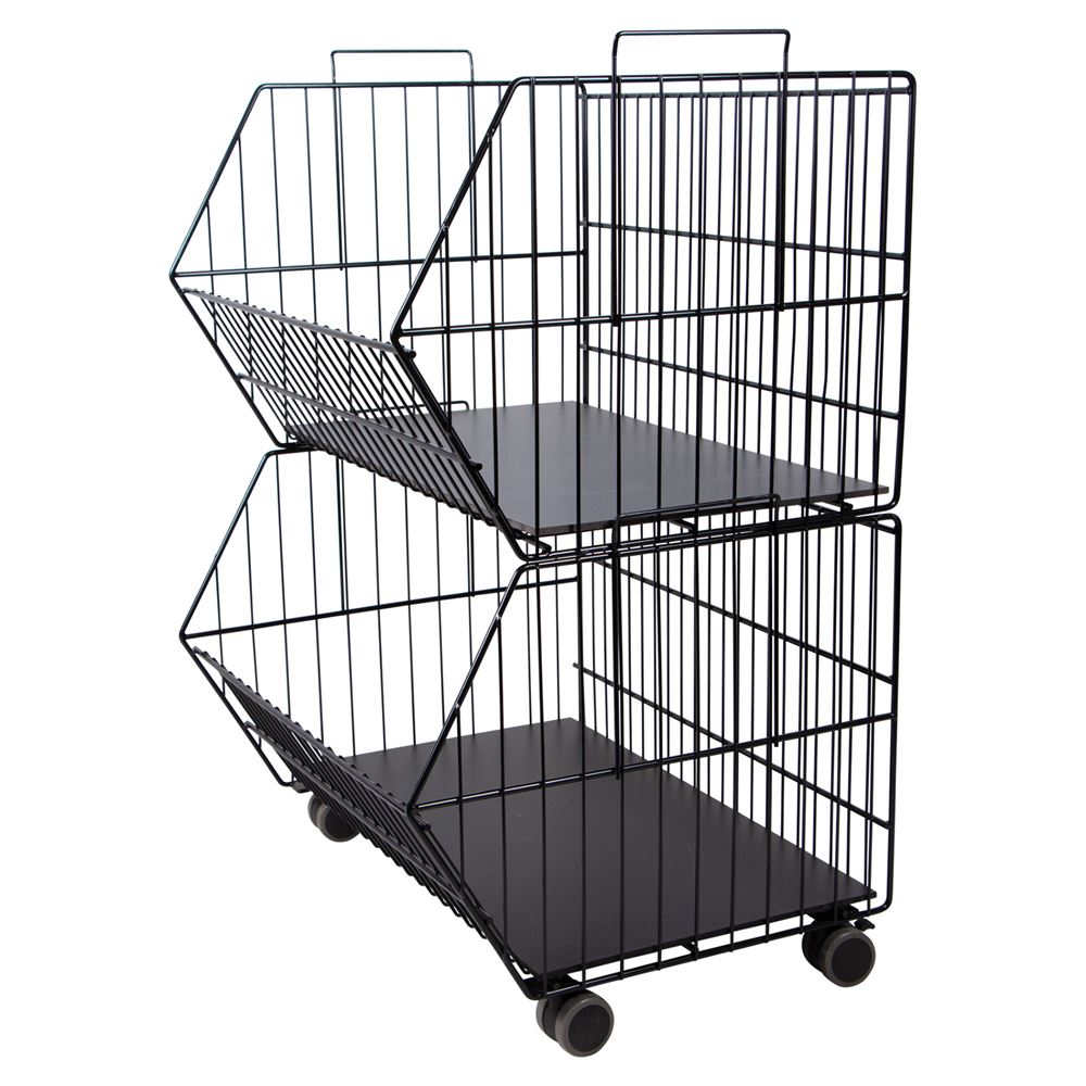 Easy-up® 2 Tier Stackable Baskets