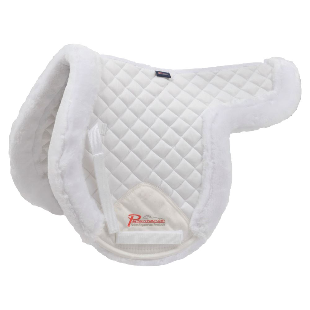 Shires Equestrian SupaFleece Rimmed Shaped Pad