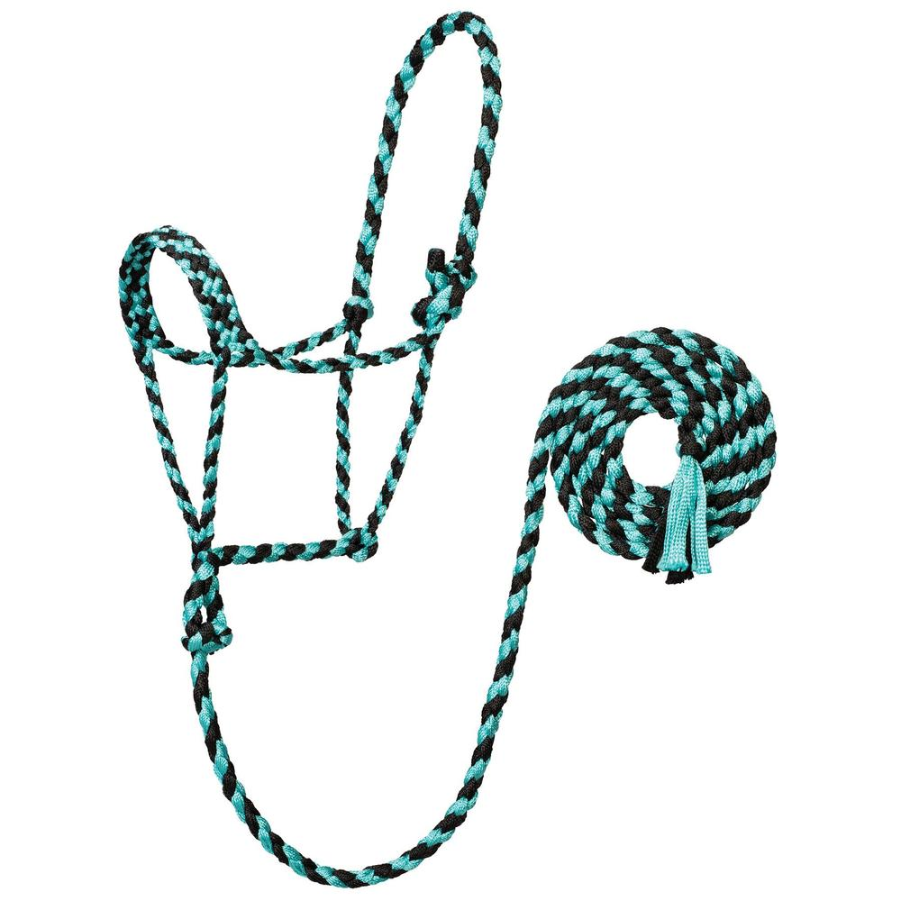 Weaver® Braided Rope Halter with 10' Lead