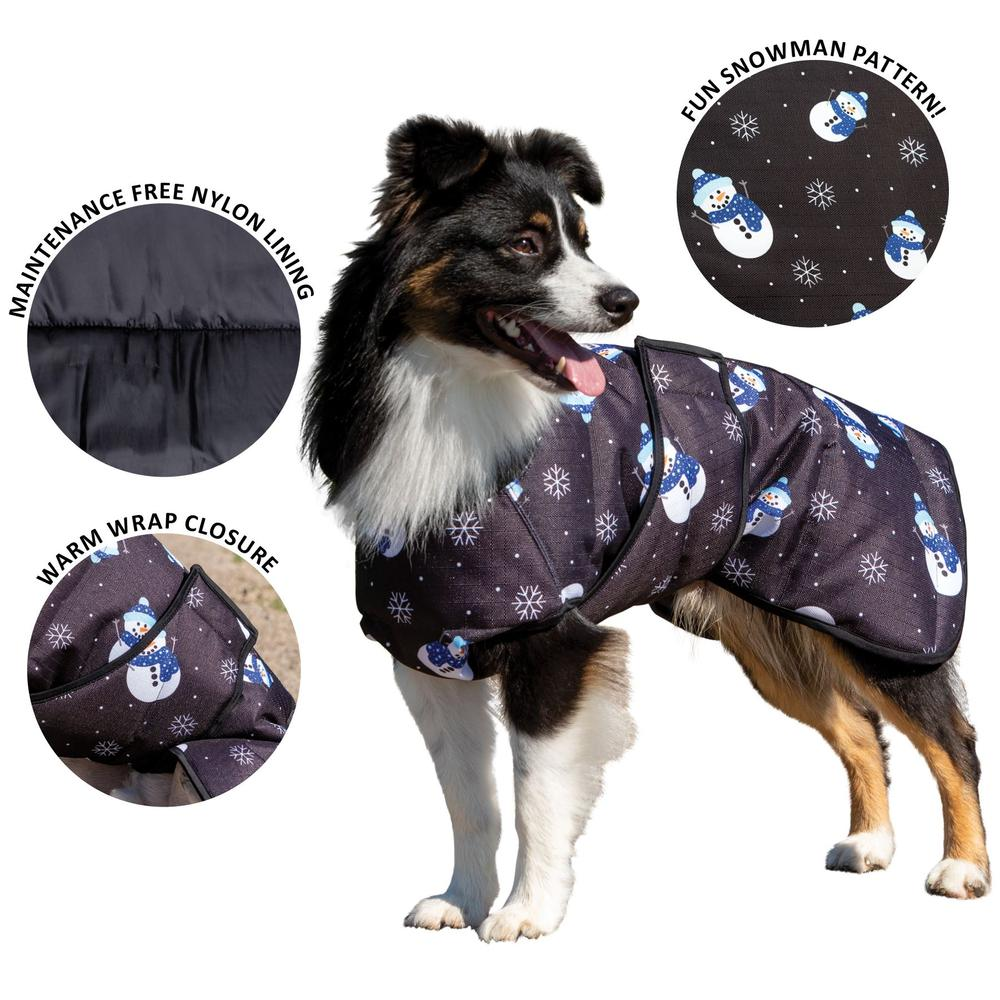 Limited Edition Snowflake Dog Coat Collection