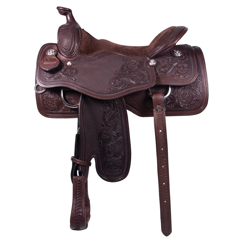 Billy Royal® Suade Seat Ranch Saddle