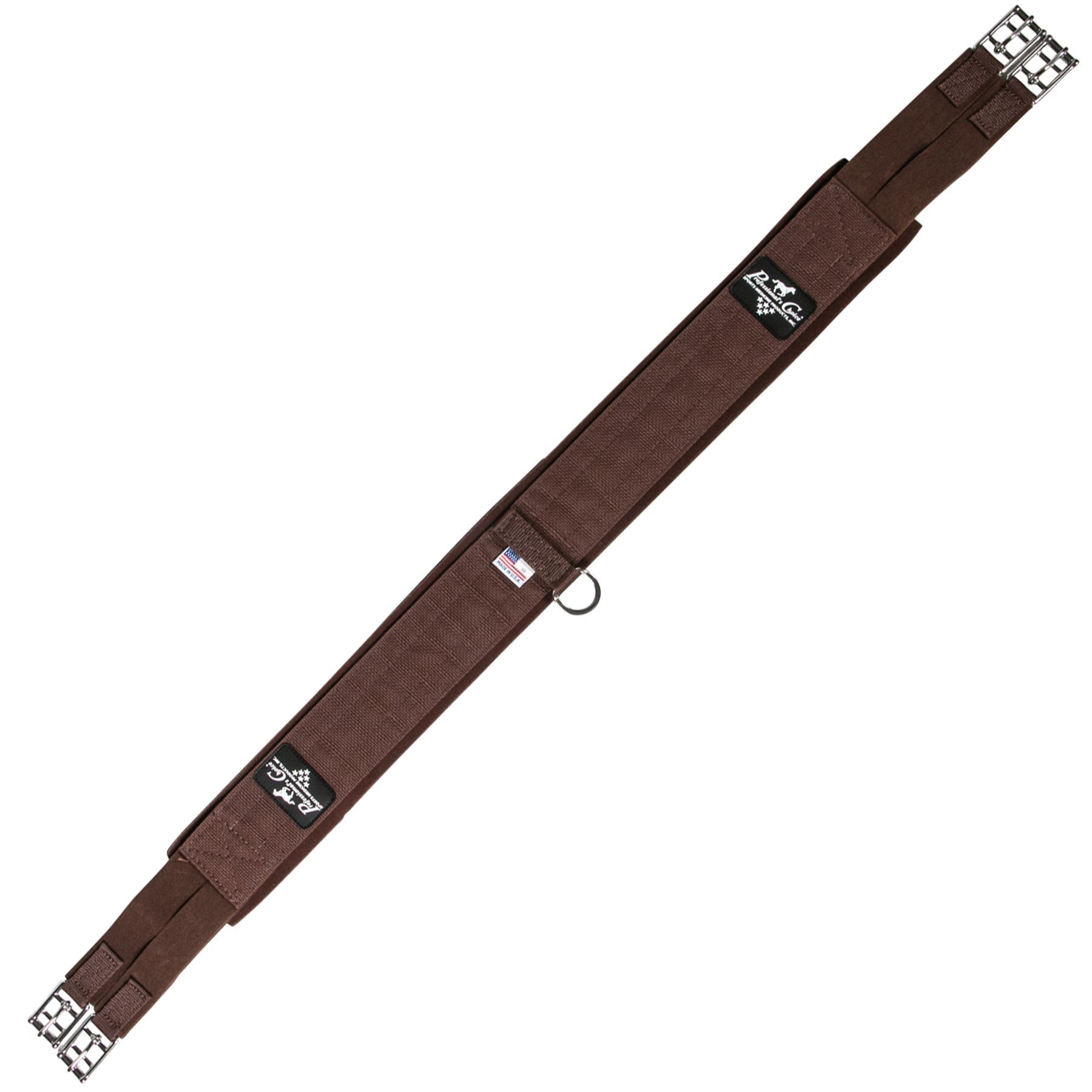 "Professionals Choice Ventech SMx English Girth 52/"" Brown Horse Tack"