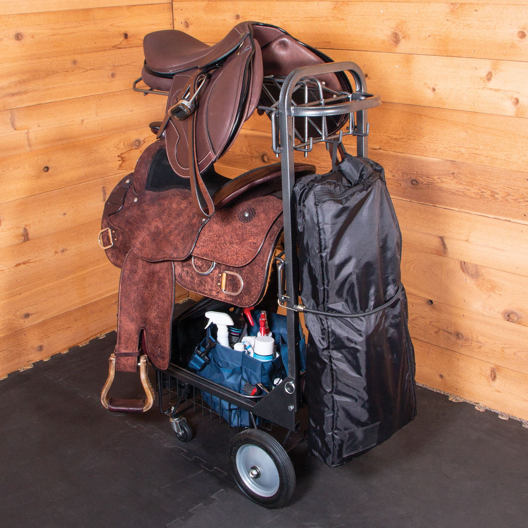 Easy-Up® Pro Series Saddle & Tack Cart
