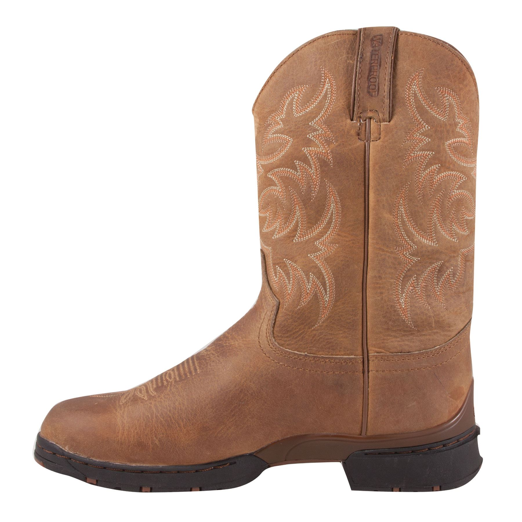 b2d4542df4a Justin Mens George Strait Waterproof Roper
