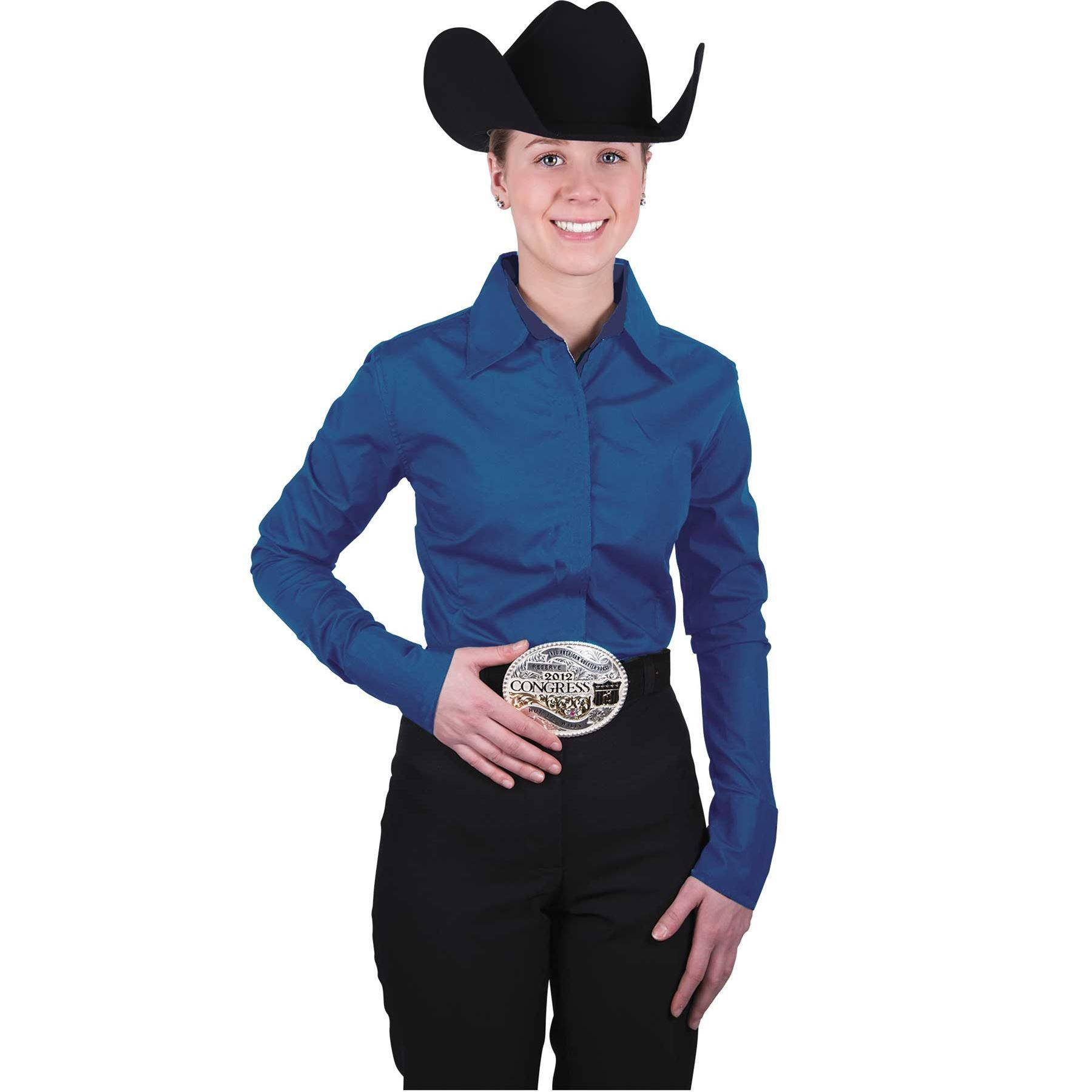 59f5f340b7 Noble Outfitters™ Ladies Perfect Fit Western Show Shirt | Schneider ...