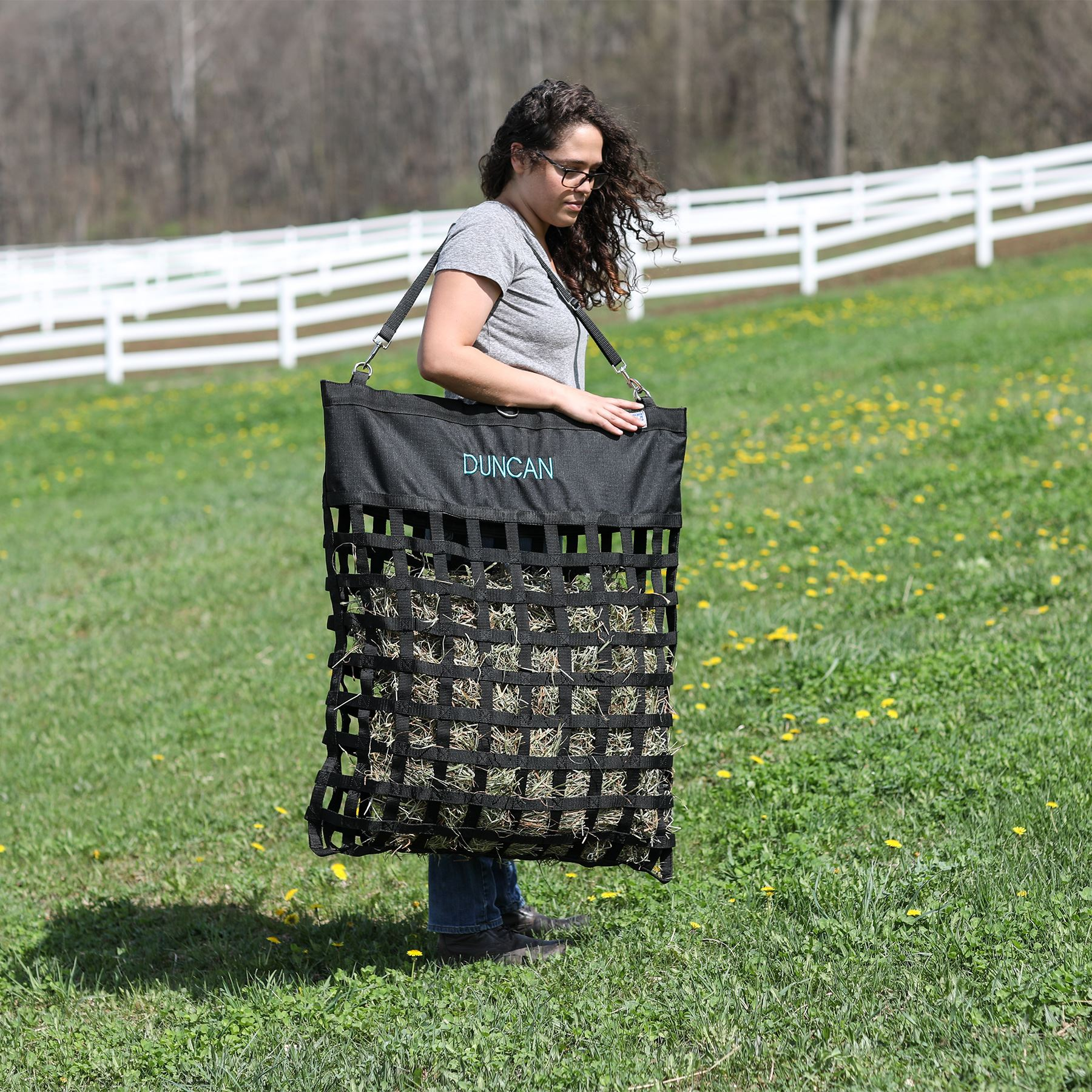 Easy Load Large Slow Feed Hay Bag