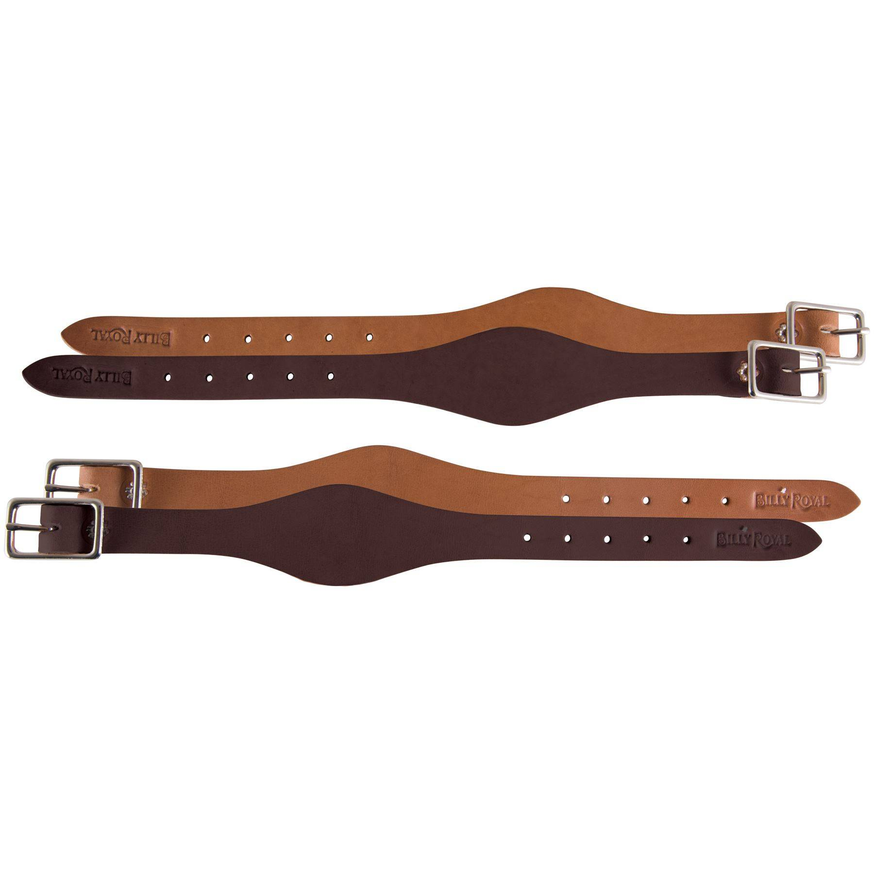 SMOOTH LEATHER BROWN FENDER HOBBLE STRAP REPLACEMENT HORSE WESTERN SADDLE TACK