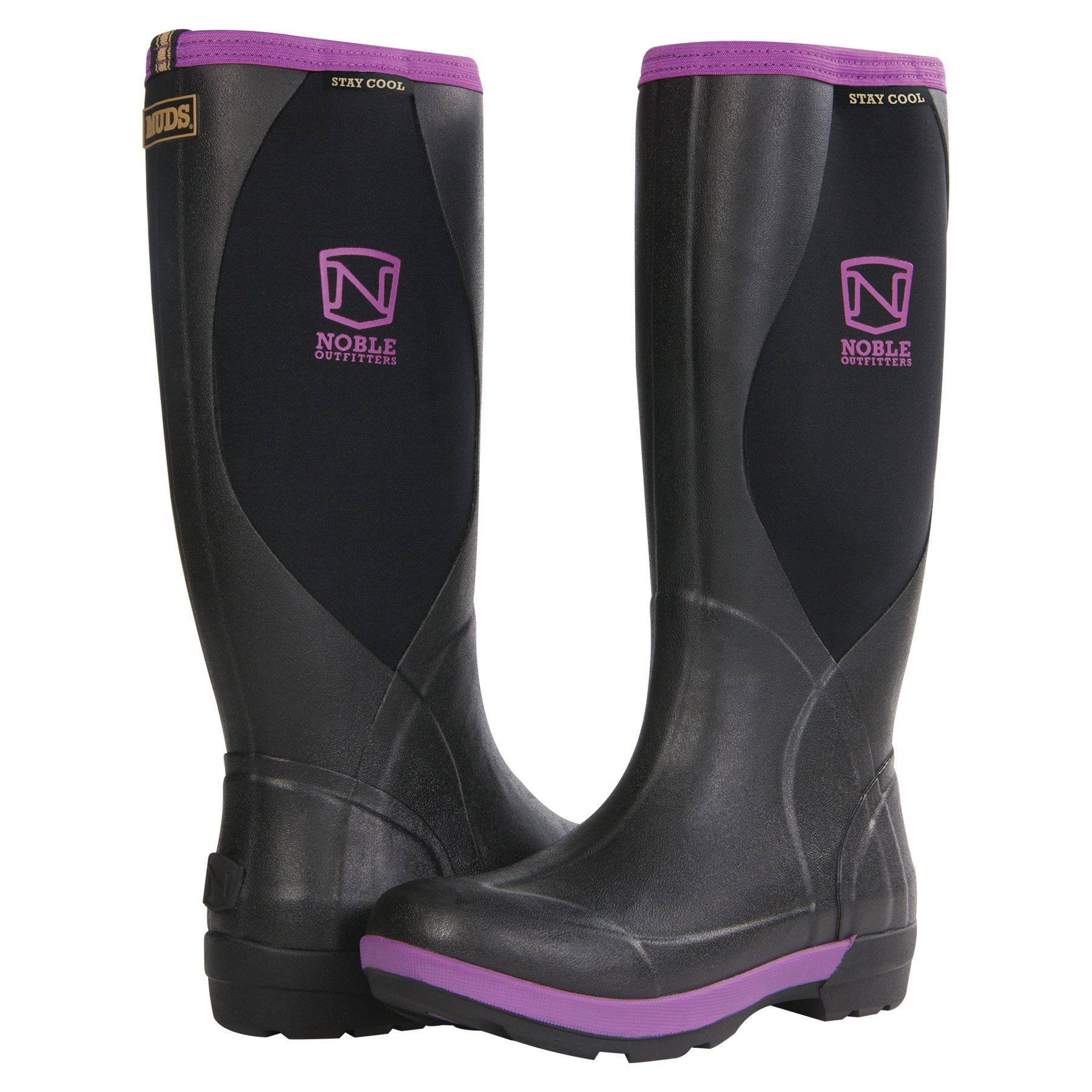Noble Outfitters Women/'s Muds Stay Cool High Boots Size 10 Same Day Shipping