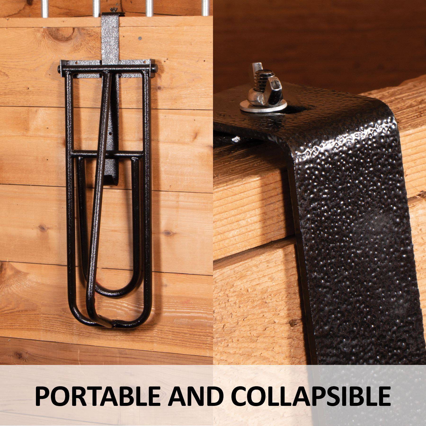 Strong Foldable Horse Saddle Rack Stand~Tack Room//Stable ~ Portable
