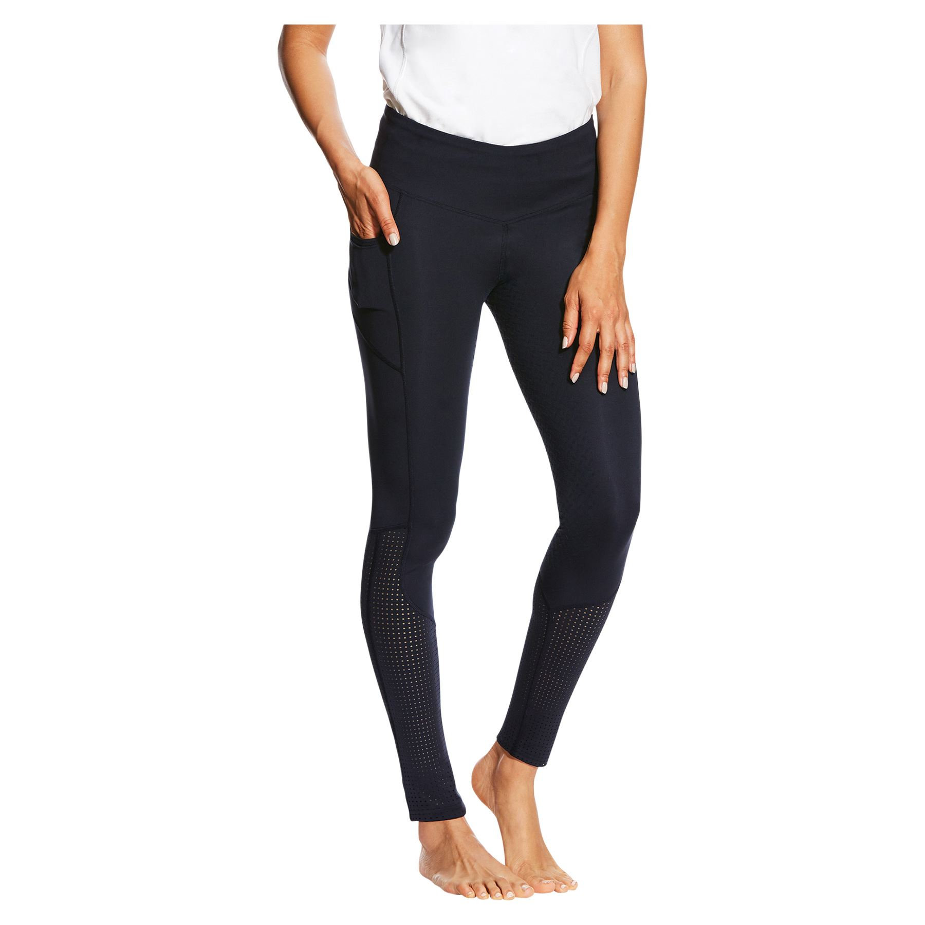 Lightweight Pull-on Ariat Women/'s Eos Full Seat Riding Tights